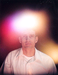 Aura Photograph of Ivan Stein in San Fernando Valley California 1994
