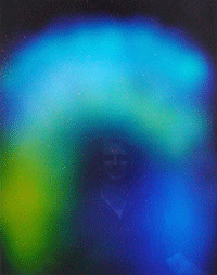 Aura Photograph of Ivan Stein in Byron Bay Australia 2008