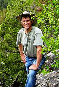 Ivan Stein Profile Photograph in Uintah Mountains of Utah